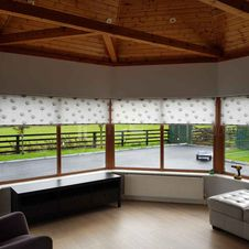 Chain operated roller blinds